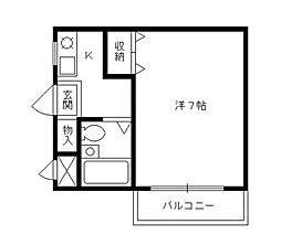 ANNEX21[3階]の間取り