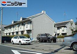 サンハイツ前田A,B[2階]の外観