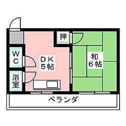 本郷パークハウス[2階]の間取り