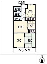 ENJYOII[1階]の間取り