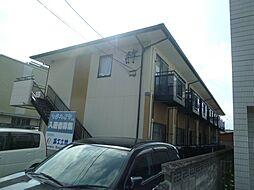 三重県松阪市大黒田町の賃貸アパートの外観