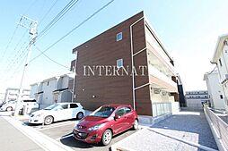 埼玉県越谷市レイクタウン6の賃貸アパートの外観