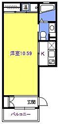 ファーストムーン[101号室号室]の間取り