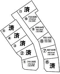 売土地 春山町/11区画