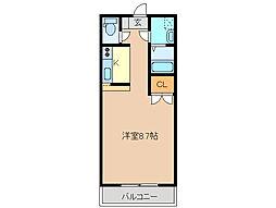 イマール太平[2階]の間取り