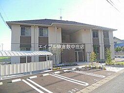 岡山県倉敷市福田町福田丁目なしの賃貸アパートの外観