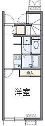 レオネクスト成城壱番館[2階]の間取り