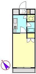 カサデカンポ[305号室]の間取り