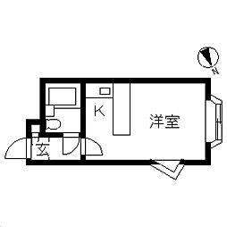 ベルピア・川崎第9[0203号室]の間取り
