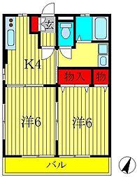 Casa KuraII[101号室]の間取り