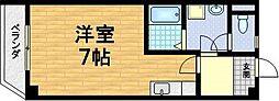 メゾンMINORU[1階]の間取り