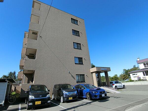 北海道北広島市大曲緑ケ丘1丁目の賃貸マンションの外観