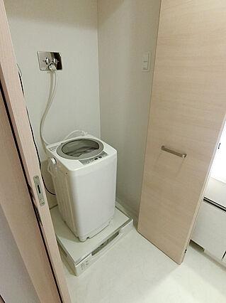 洗濯機置き場(...
