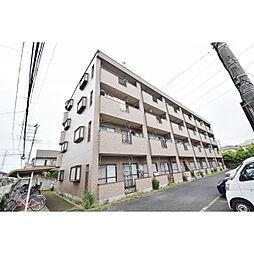 埼玉県川越市むさし野の賃貸マンションの外観