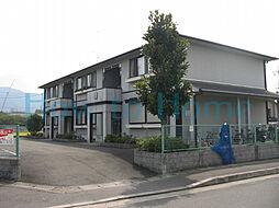 京都府京都市左京区岩倉下在地町の賃貸アパートの外観