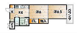 コンフォルト[2階]の間取り