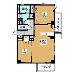 仮称)ソフト99コーポレーション名古屋支店円上町プロジェクト[5階]の間取り