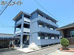岐阜県関市平賀町4丁目の賃貸マンションの外観