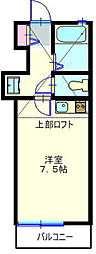 ウィステリア六角橋[203号室]の間取り
