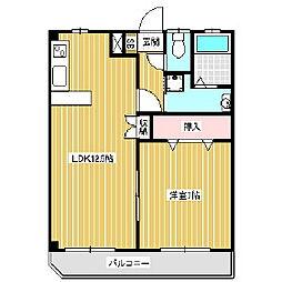 プレステージアルプスI[6階]の間取り