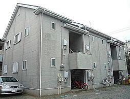 神奈川県平塚市須賀の賃貸アパートの外観