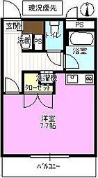 長野県長野市大字鶴賀の賃貸マンションの間取り