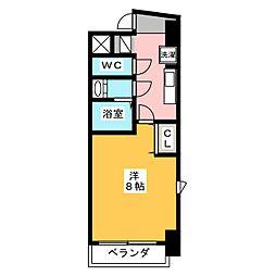 コモレビスクエア大須[9階]の間取り