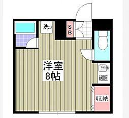 ビシーナコートGOKO[2階]の間取り