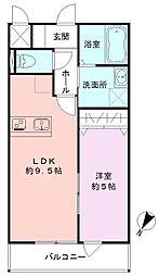 SAKASU KICHIJOJI[303号室]の間取り