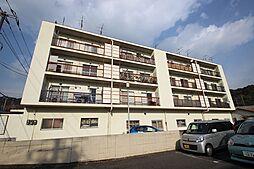 広島県広島市西区山手町の賃貸マンションの外観
