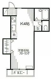 アンソロジー桜台[2階]の間取り