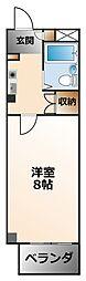 アメニティ武庫川[4階]の間取り