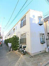 東京都大田区大森本町2丁目の賃貸アパートの外観