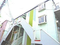 ツインパステル三貴A[3階]の外観