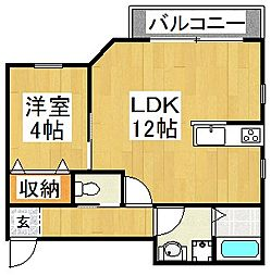 (仮)長曽根町マンション[2階]の間取り