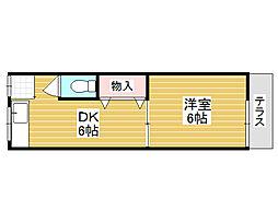 前田邸アパート[1階]の間取り