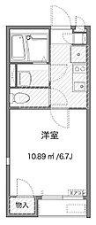 神奈川県横浜市保土ケ谷区川島町の賃貸アパートの間取り
