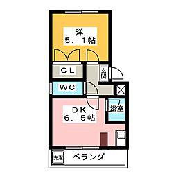 カーサ・ソフィアIII[3階]の間取り