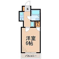 シャトードゥーショコラ[1階]の間取り