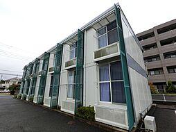 千葉県成田市田町の賃貸アパートの外観