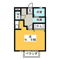 セジュール81[2階]の間取り