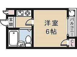 ジョイライフ永和[305号室]の間取り
