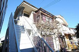埼玉県越谷市南越谷3丁目の賃貸アパートの外観