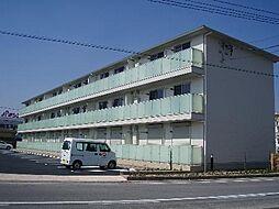 愛知県安城市横山町毛賀知の賃貸アパートの外観