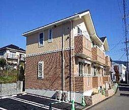 静岡県裾野市茶畑の賃貸アパートの外観