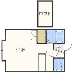EN元町[3階]の間取り