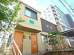 千葉県市川市田尻3丁目の賃貸アパートの外観