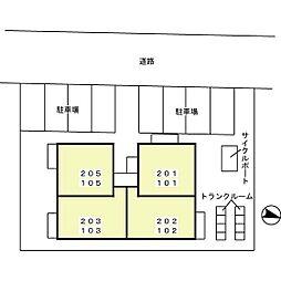 T'レボリューション[2階]の外観