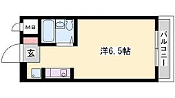 ベルトピア加古川[207号室]の間取り