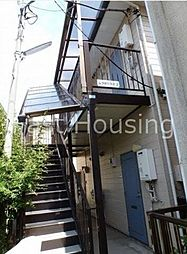 東京都中野区上高田5丁目の賃貸アパートの外観